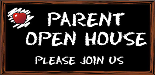 High School Parent/Student Open House  Grades 9-12  August 28th  5:30pm-7:00pm