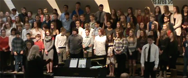 Middle School Choir Concert